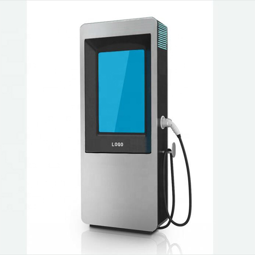 Electric Vehicle Charging KIOSK Station With Digital Signage