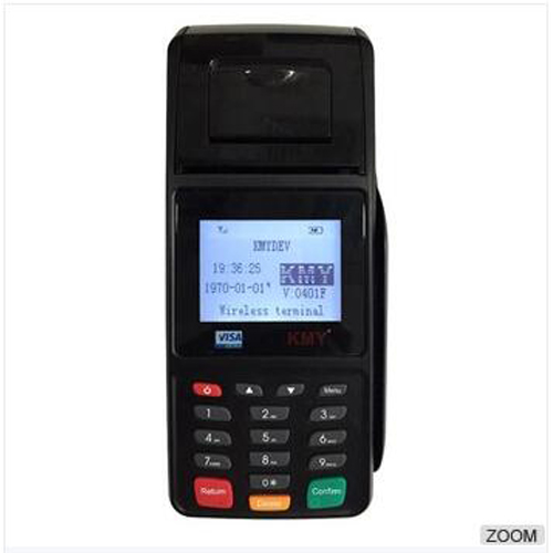 High Security Banking Payment Handheld Portable Linux POS With Magnetic Card Reader & IC Card Reader