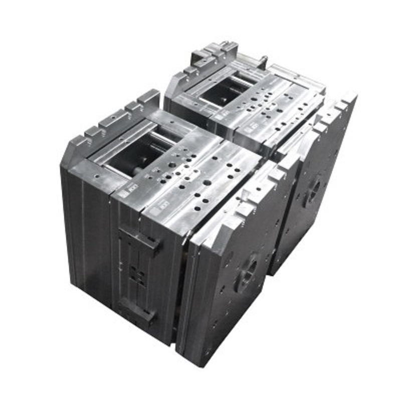 Pile detector double-color surface shell mold