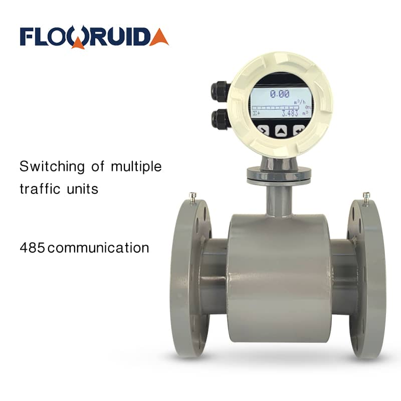Electromagnetic flow meters for wastewater