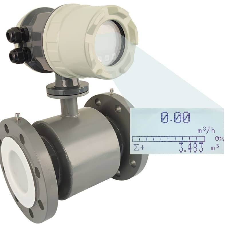 RS485 Electromagnetic Flow meter