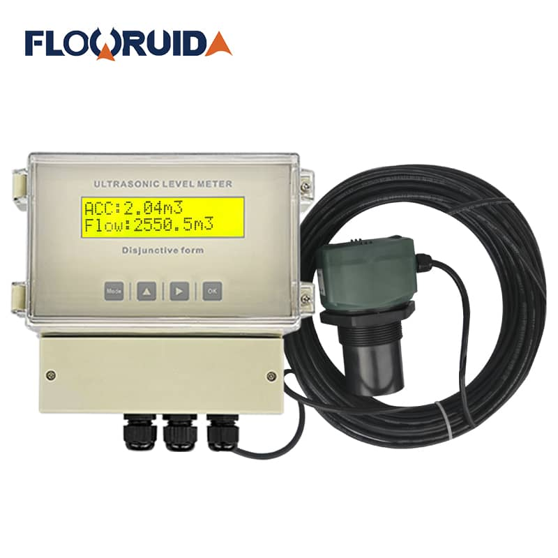 Ultrasonic flowmeter Parshall Flume open channel